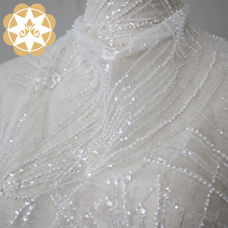 ivory lace love in china for apparel-5