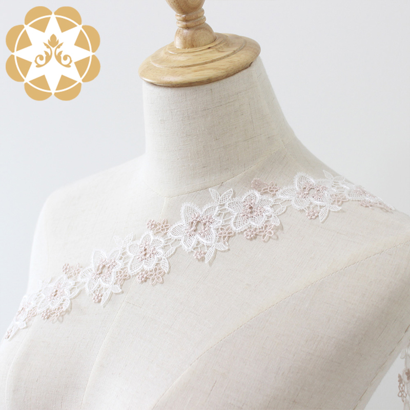 Winsunemb competitive price lace trim by the yard in china for lingerie-3