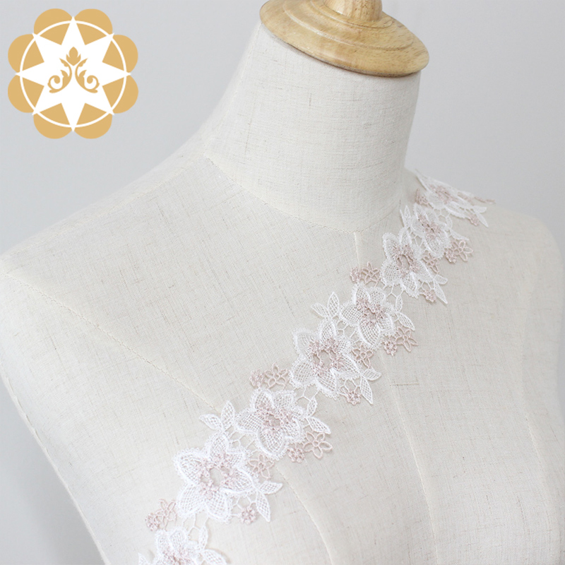Winsunemb competitive price lace trim by the yard in china for lingerie-5