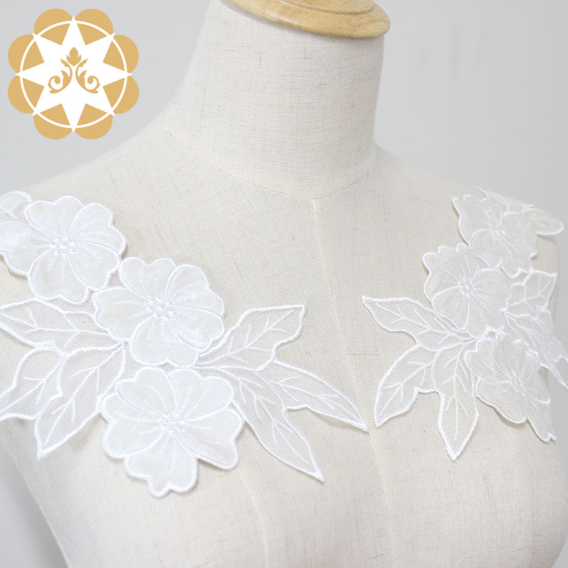 Winsunemb guipure embroidery lace motif directly sale for chest corsage-1