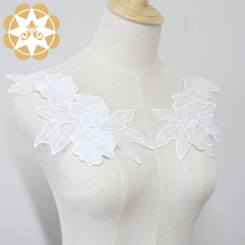 Winsunemb guipure embroidery lace motif directly sale for chest corsage-4