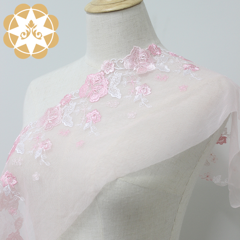 fans style lace fabric producer for lingerie Winsunemb-5