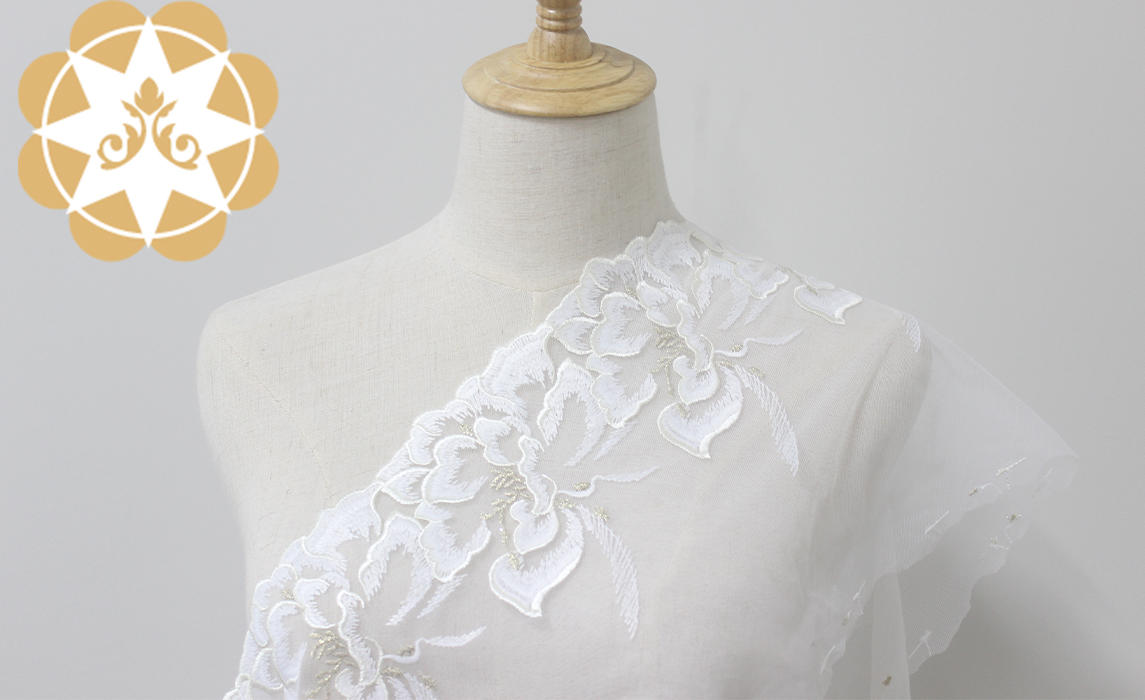 Wholesale hollow Embroidery Lace Trimming Winsunemb Brand