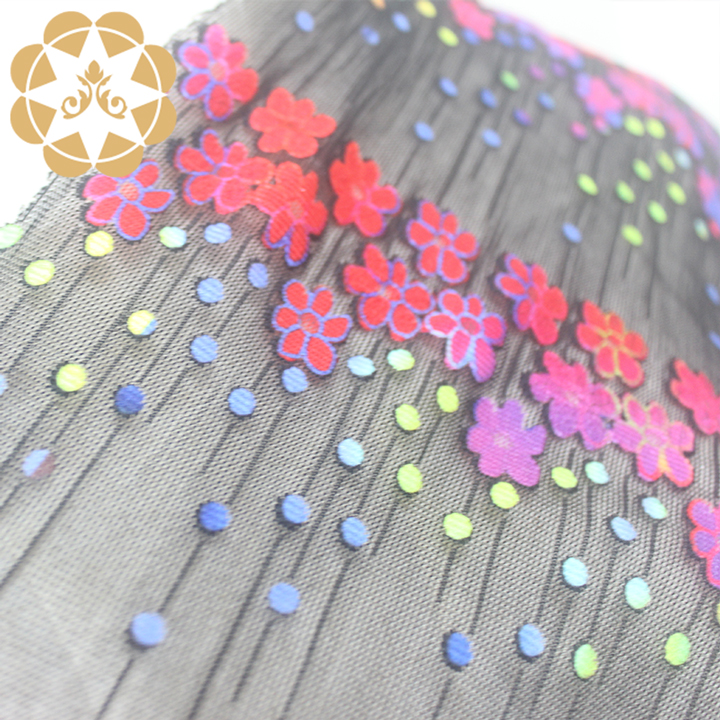 Winsunemb 3d printed lace fabric in china for printed fabric-4