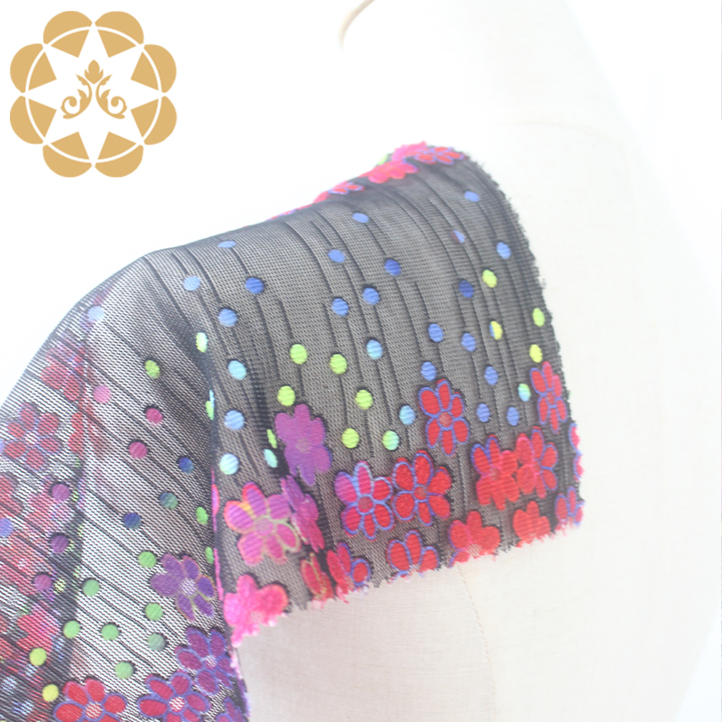 Winsunemb 3d printed lace fabric in china for printed fabric-3