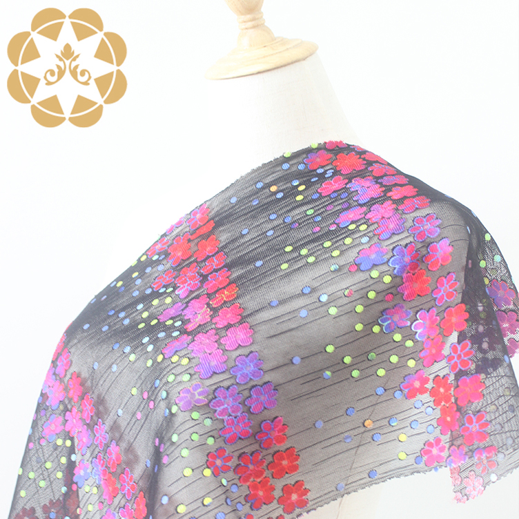 Winsunemb 3d printed lace fabric in china for printed fabric-5