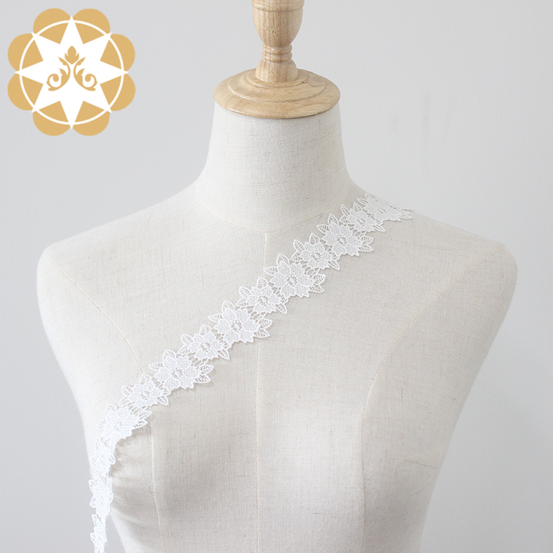 Winsunemb metallic lace fabric order now for DIY-1