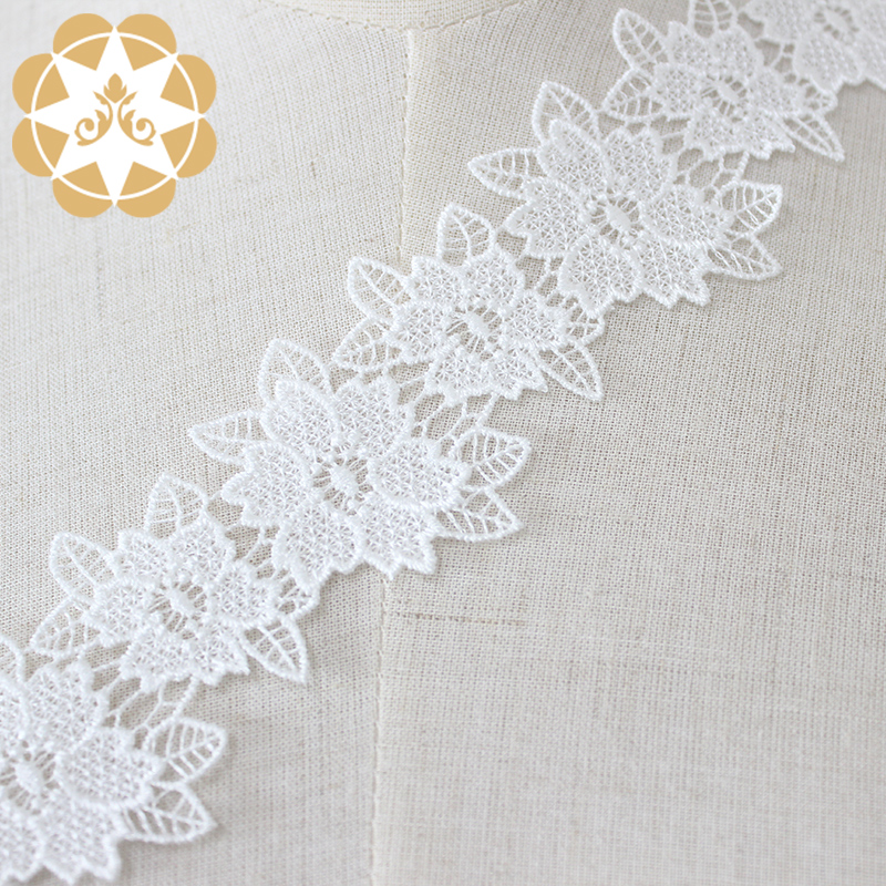 Winsunemb metallic lace fabric order now for DIY-4