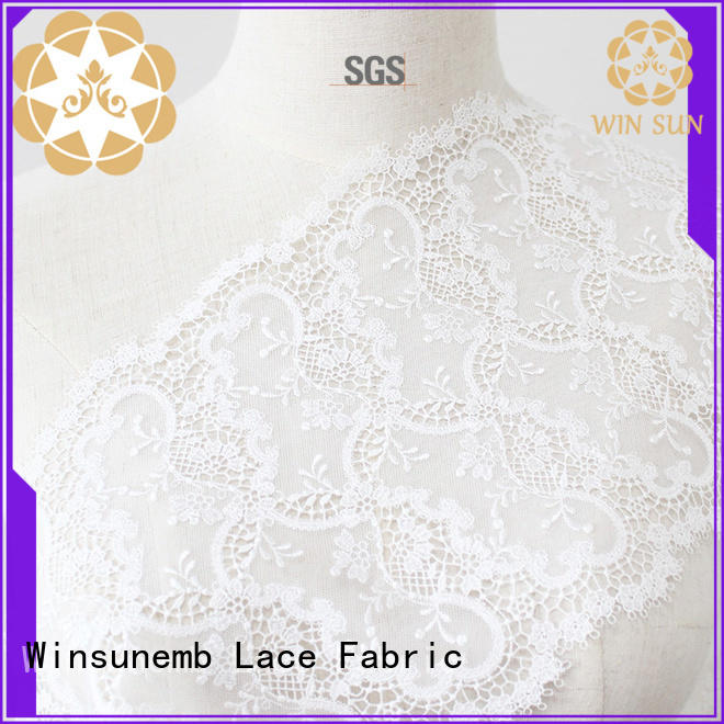 excellent luxury lace embroidery for manufacturer for underwear