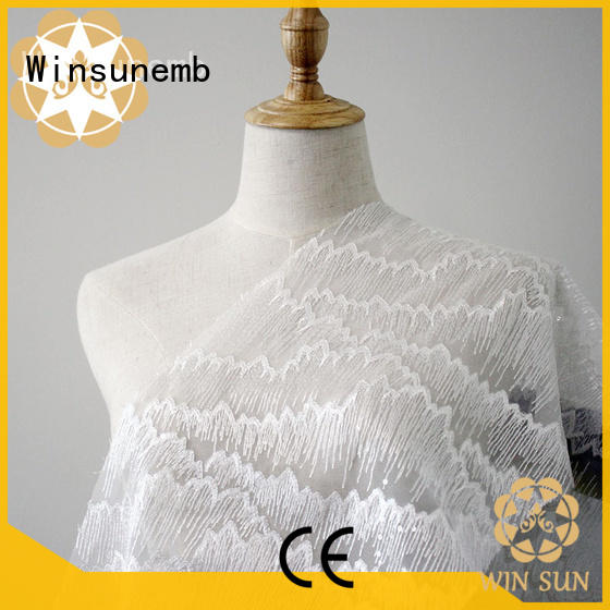 professional stretch lace fabric dark grab now for apparel