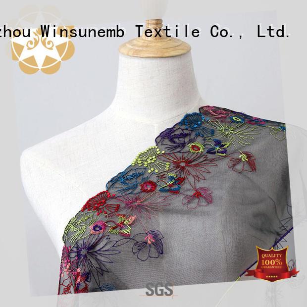 Winsunemb elegant lace cloth shop now for apparel