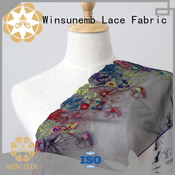 Winsunemb quality lace for sale for manufacturer for apparel