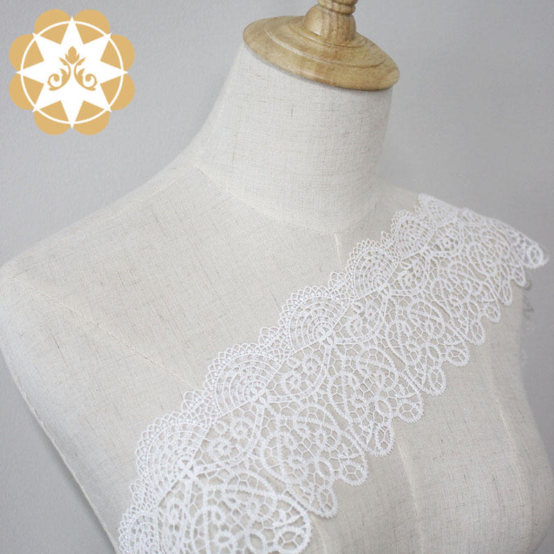 Winsunemb ivory lace ribbon producer for fashion garment