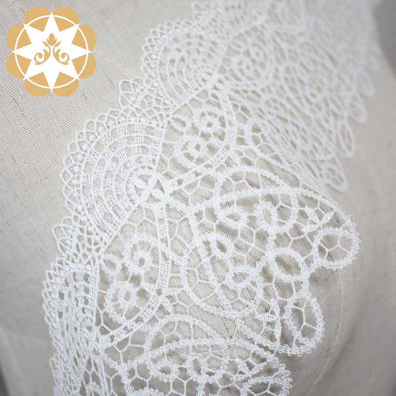 Winsunemb ivory lace ribbon producer for fashion garment-4