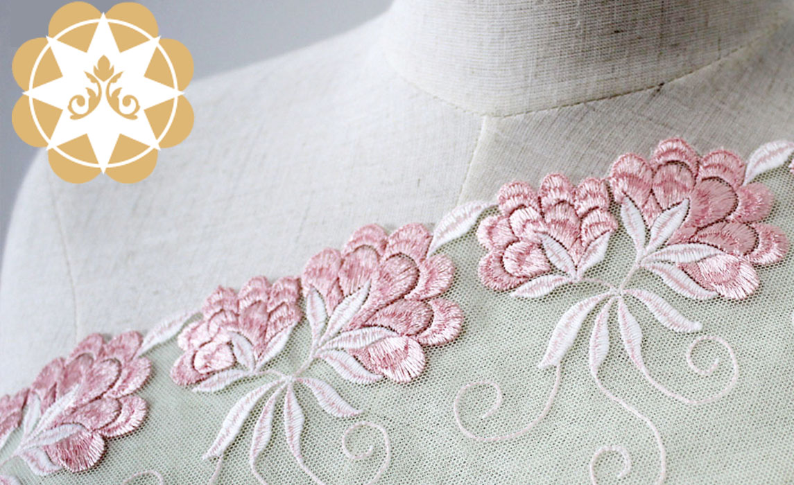 Winsunemb -Find Polyester Embroidery Lace Bright Flowers For Lingerie Wholesale-1
