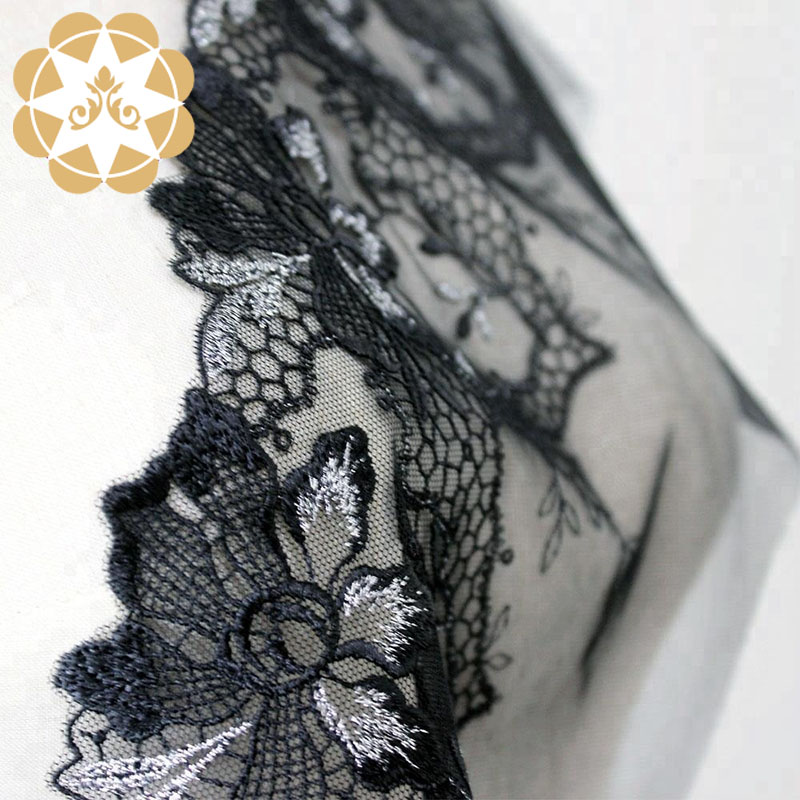 Winsunemb -High-quality Embroidery Lace High Quality Evening Clothing Lingerie-4