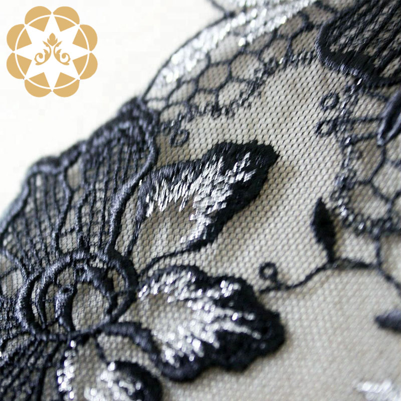 Winsunemb -High-quality Embroidery Lace High Quality Evening Clothing Lingerie-3