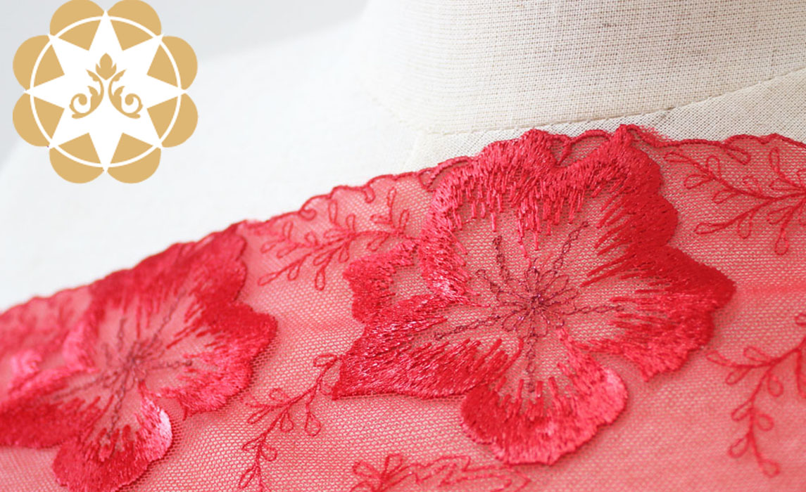 Winsunemb -Manufacturer Of Guipure Lace Fabric Net French Lace Fabric-1