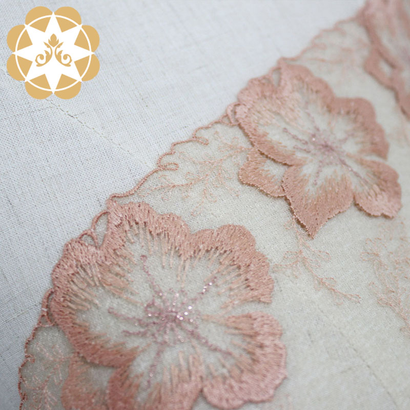 Winsunemb lace fabric by the yard order now for apparel-5