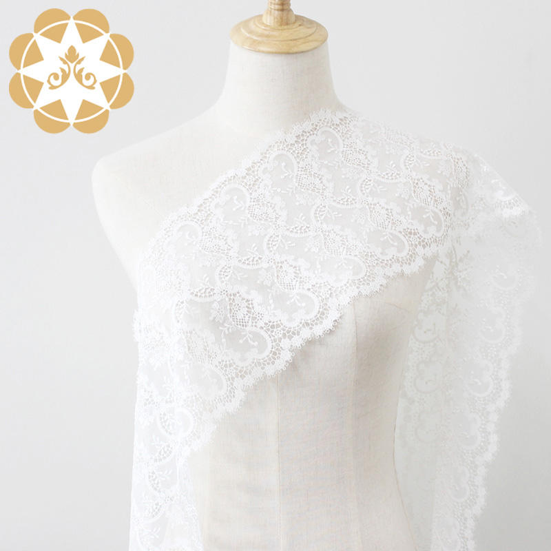 excellent lace fabric wholesale embriodery for apparel