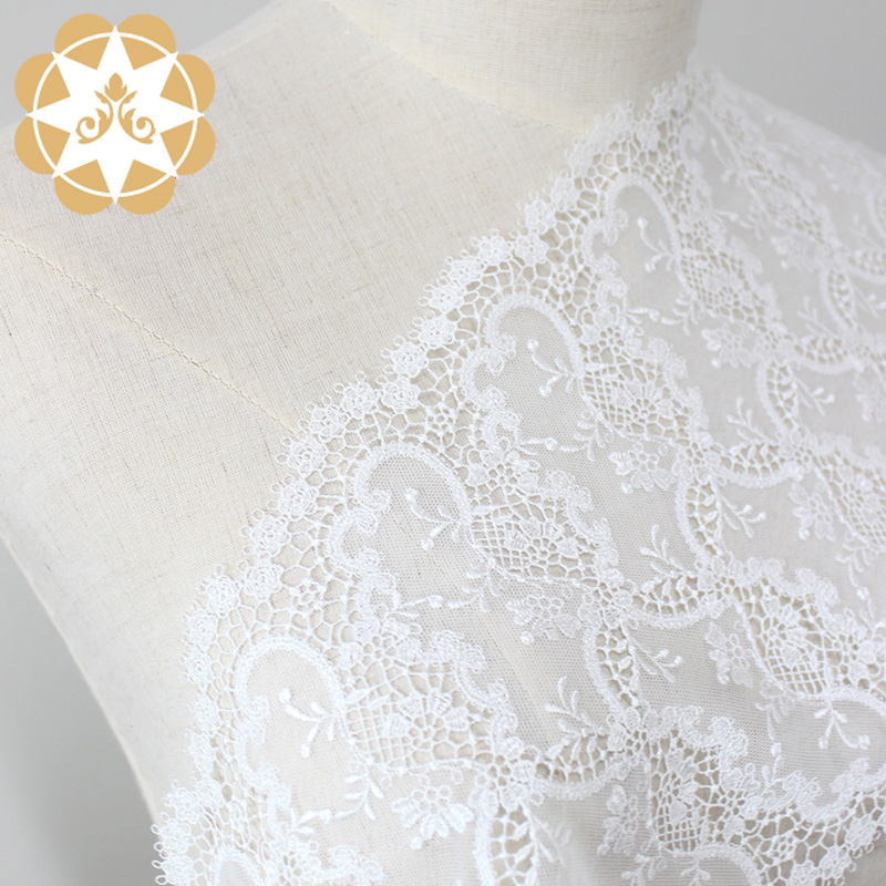 excellent lace fabric wholesale embriodery for apparel-5