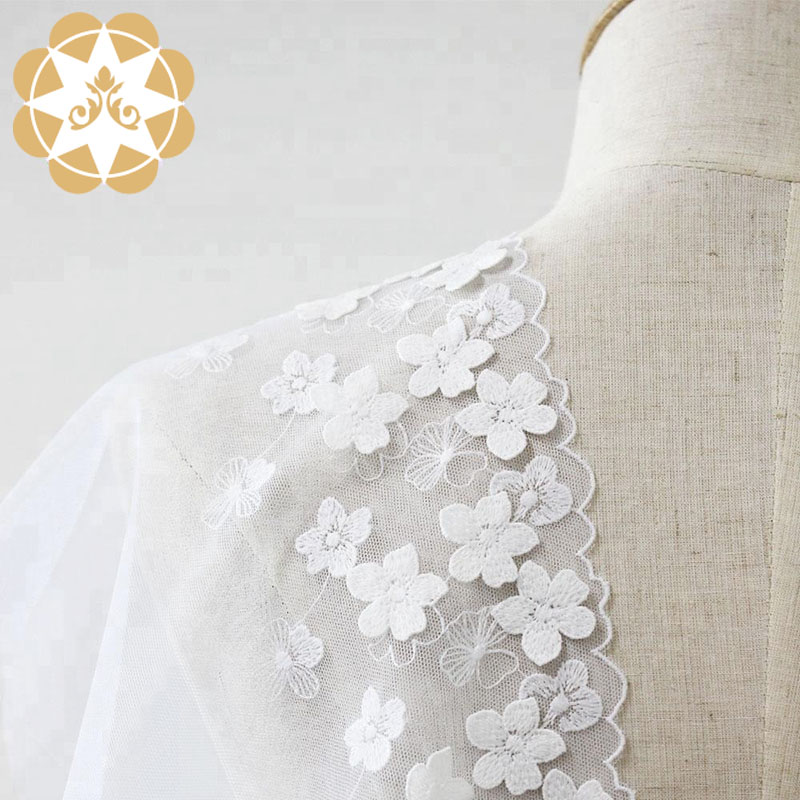Winsunemb -beaded fabric by the yard | Embroidery Lace Fabric | Winsunemb