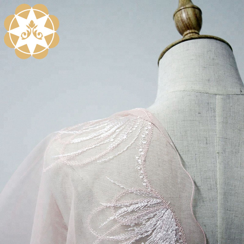 Winsunemb -High-quality Lace For Sale | Embroidery Lace Fabric French Style Flower