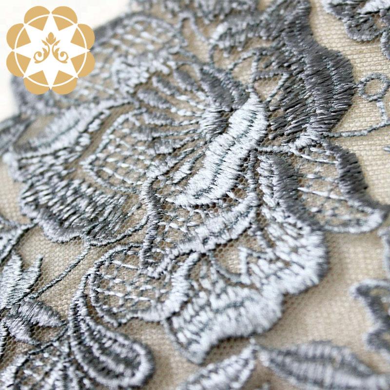 Winsunemb -vintage lace fabric | Embroidery Lace Fabric | Winsunemb