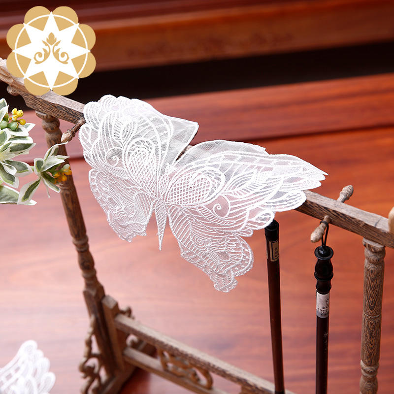 Lace Doilies :Chinese traditional beautiful butterfly-shaped design Doilies Wholesale