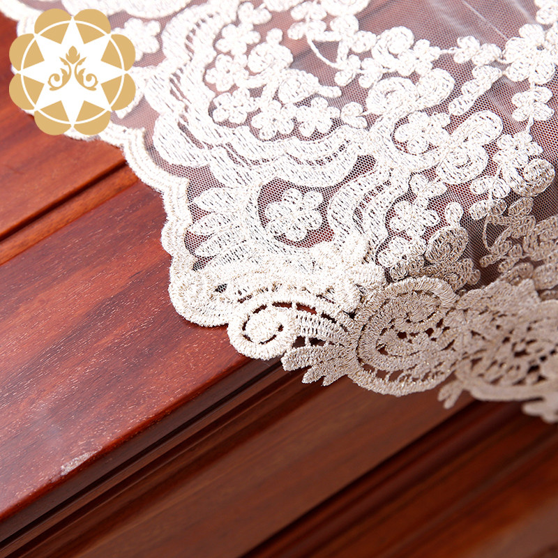 Winsunemb -Table Lace runner Table Decoration Embroidery Designs Lace-2