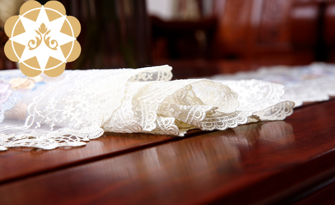competitive price lace table runners wedding table runner order now for sideboards-2