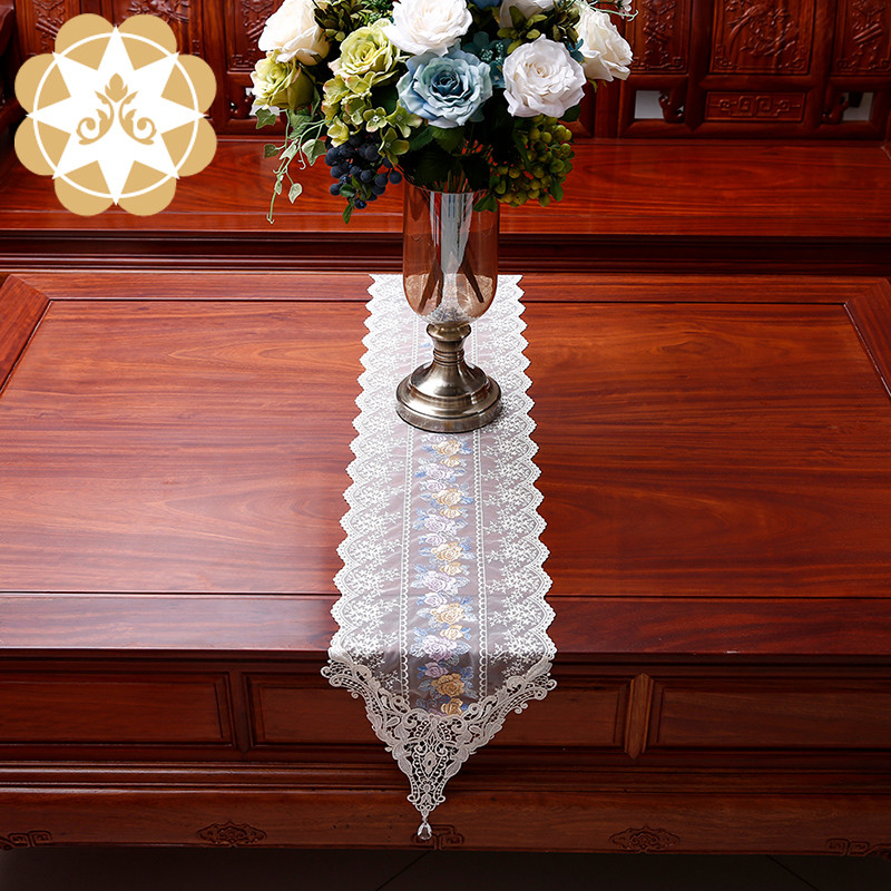 competitive price lace table runners wedding table runner order now for sideboards-3