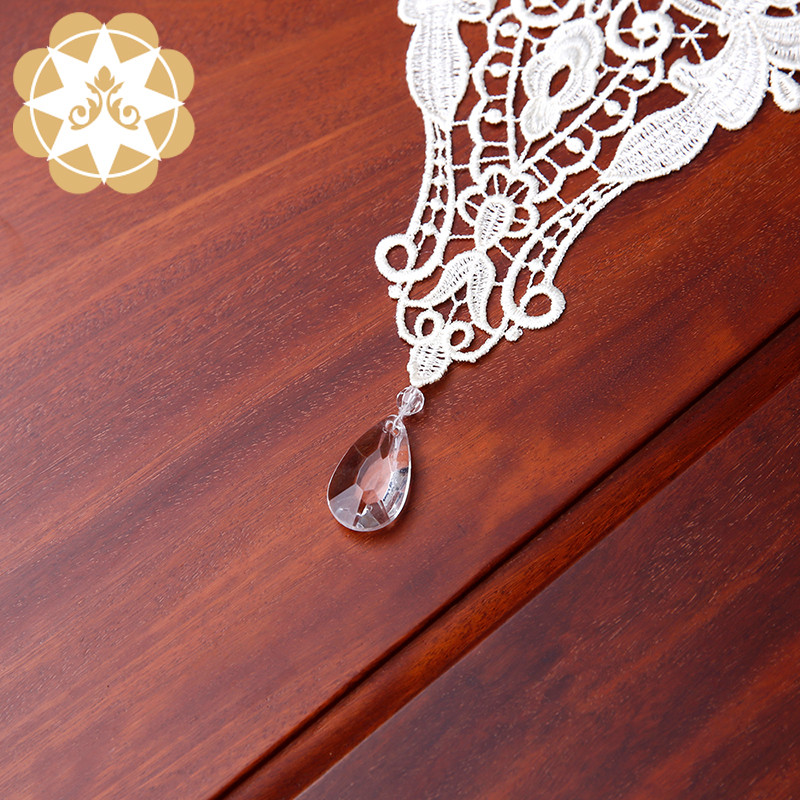 competitive price lace table runners wedding table runner order now for sideboards-5