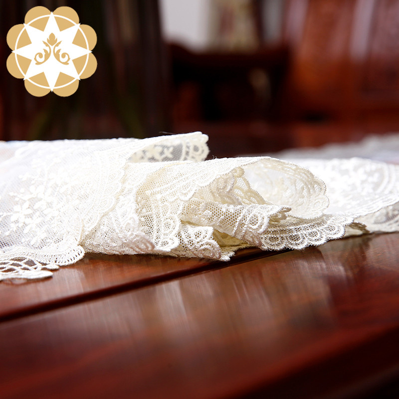 competitive price lace table runners wedding table runner order now for sideboards-7