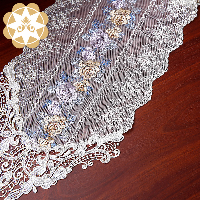 competitive price lace table runners wedding table runner order now for sideboards-8