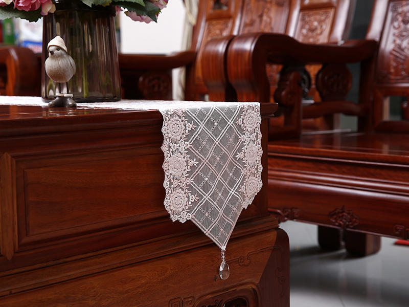 Our embroidery table runners are perfect for creating a classic table