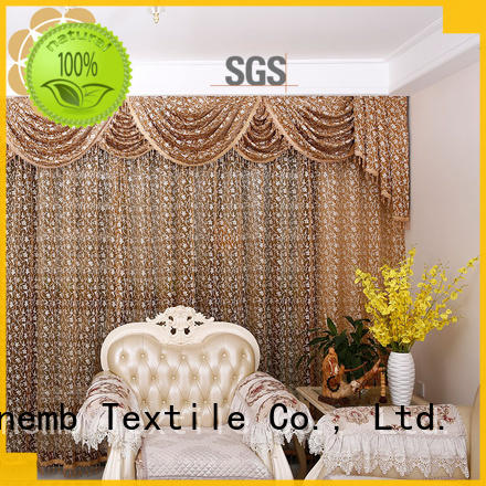 Hot Embroidery Lace Curtains half Winsunemb Brand