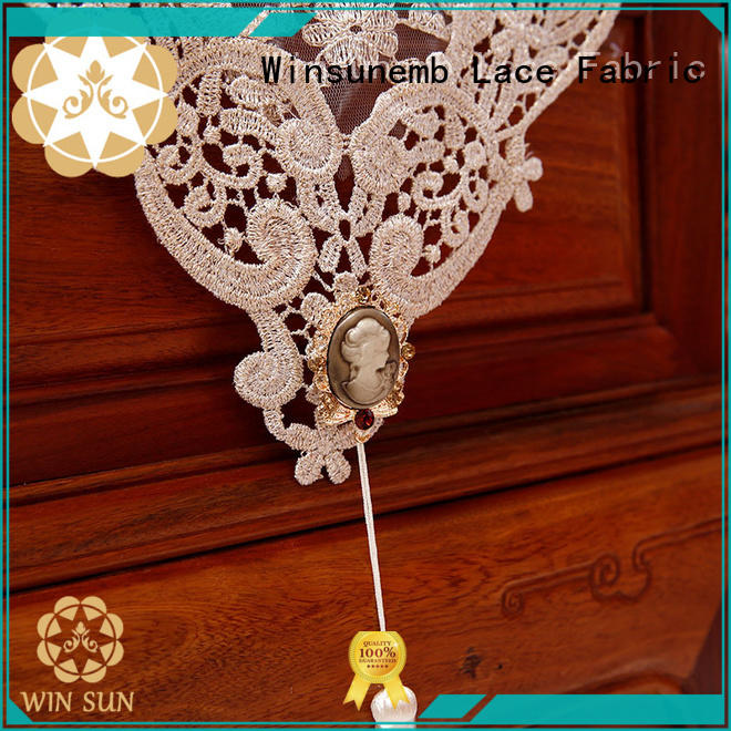Winsunemb nop805 lace table runners wedding in china for TV cabinets
