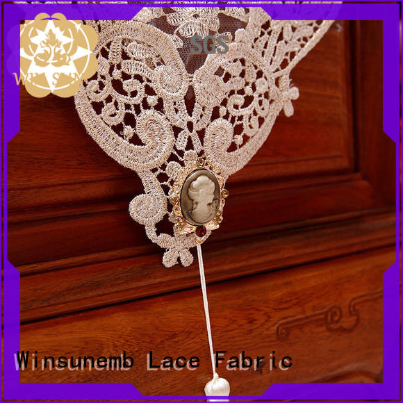 Winsunemb colorful lace runners order now for TV cabinets
