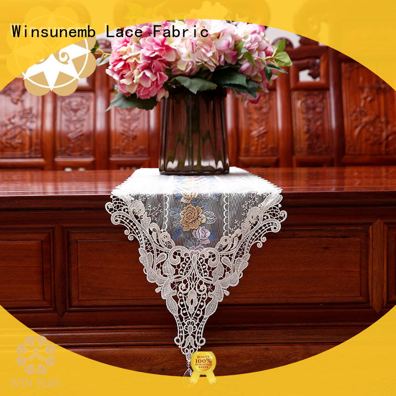 high-end lace table runners lace grab now for TV cabinets
