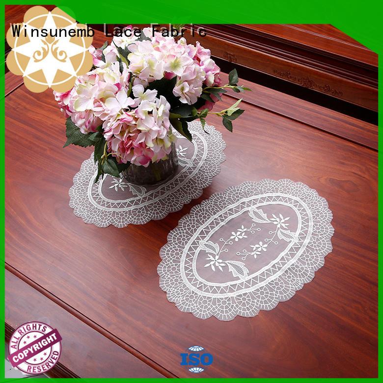 Winsunemb Brand design butterflyshaped traditional where to buy lace doilies beautiful