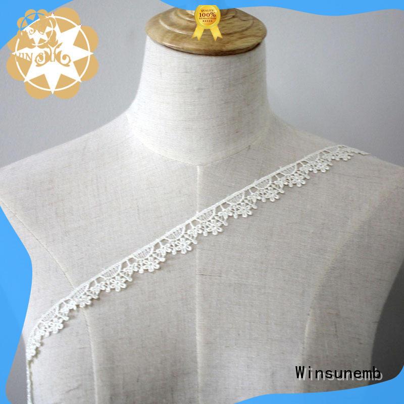 Winsunemb lace lace ribbon for lingerie