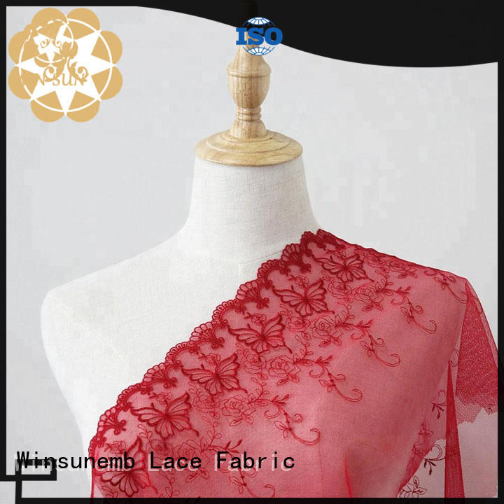 ivory lace net producer for apparel