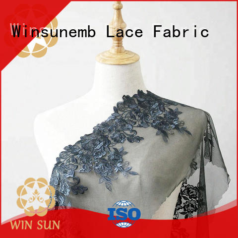 Winsunemb excellent lace for sale order now for apparel