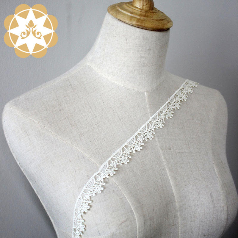 Winsunemb -High-quality Embroidery Lace Trimming | Embroidery Lace Trim Hollow Cut
