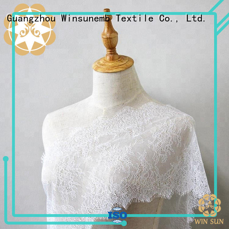 bridal lace fabric tulle for apparel
