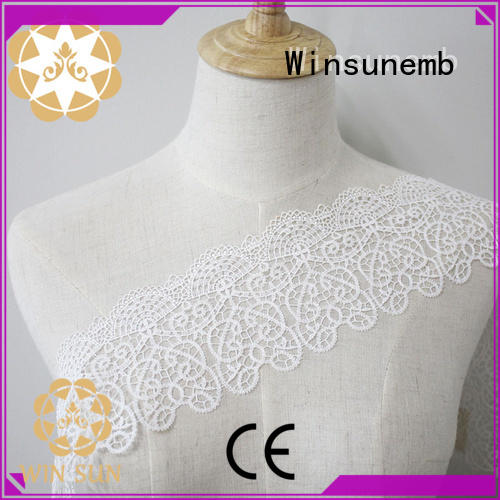 colorful Embroidery Lace Trimming nightgowns producer for lingerie