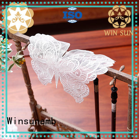 Winsunemb superior lace placemats for manufacturer for TV cabinets