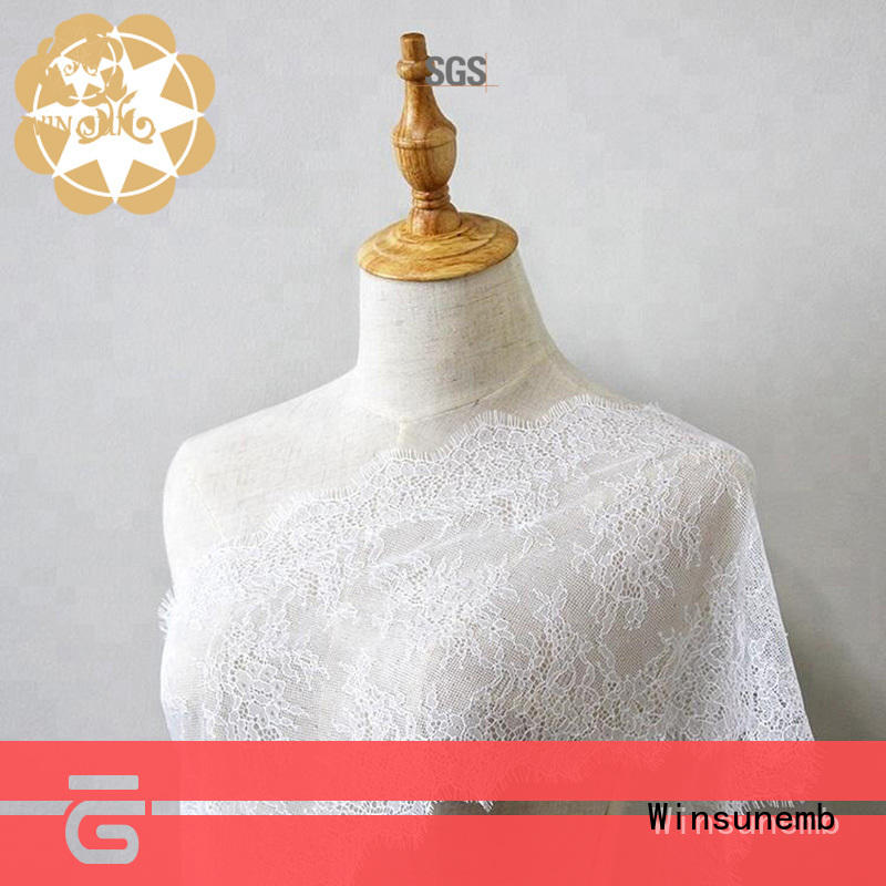 Winsunemb excellent ivory lace fabric grab now for underwear
