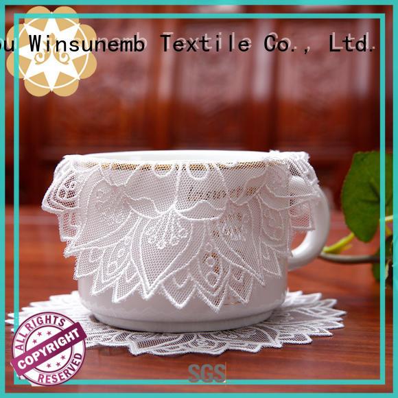 where to buy lace doilies big chinese beautiful Winsunemb Brand company